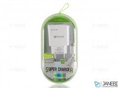 شارژر دیواری سریع و کابل میکرو یو اس بی باوین Bavin PC505Y Micro USB Charger