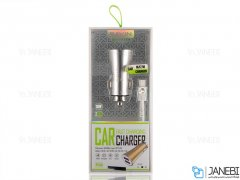 شارژر فندکی سریع و کابل میکرو یو اس بی باوین Bavin PC539 Micro USB Car Charger