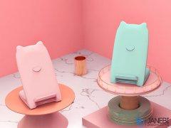 استند شارژر وایرلس نیلکین Nillkin Kitty Qi Wireless Charging Stand
