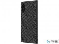 قاب محافظ فیبر نیلکین سامسونگ Nillkin Synthetic Fiber Plaid Case Samsung Note 10