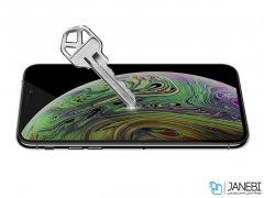محافظ صفحه نمایش شیشه ای نیلکین آیفون Nillkin 3D CP+ Max Glass Apple iPhone 11 Pro