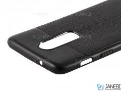 قاب ژله ای طرح چرم وان پلاس Auto Focus Jelly Case OnePlus 6