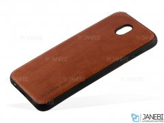 قاب طرح چرم سامسونگ Huanmin Leather Case Samsung Galaxy J5 Pro