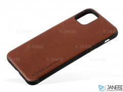قاب طرح چرم آیفون Huanmin Leather Case Apple iPhone 11 pro