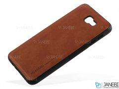 قاب طرح چرم سامسونگ Huanmin Leather Case Samsung Galaxy J7 Prime