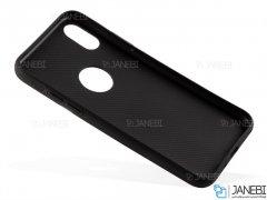 قاب طرح چرم آیفون Huanmin Leather Case Apple iPhone XR