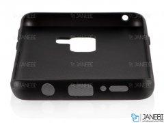 قاب طرح چرم سامسونگ Huanmin Leather Case Samsung Galaxy S9 Plus