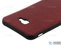 قاب طرح چرم سامسونگ Huanmin Leather Case Samsung Galaxy J4 Plus