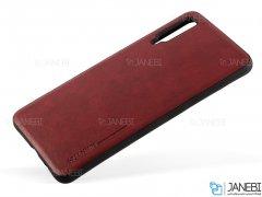 قاب طرح چرم سامسونگ Huanmin Leather Case Samsung Galaxy A7 2018