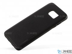 قاب طرح چرم سامسونگ Huanmin Leather Case Samsung Galaxy S7 Edge