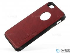 قاب طرح چرم آیفون Huanmin Leather Case Apple iPhone 5/5S