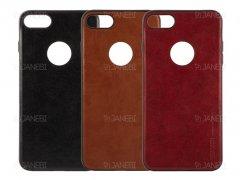 قاب طرح چرم آیفون Huanmin Leather Case Apple iPhone 7/8