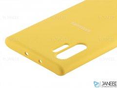 قاب محافظ سیلیکونی سامسونگ Silicone Cover Samsung Galaxy Note 10 Plus