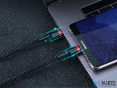 کابل شارژ سریع و انتقال داده تایپ سی بیسوس Baseus Cafule Type-C PD2.0 Cable 1m