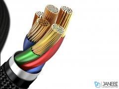 کابل شارژ سریع لایتنینگ به تایپ سی بیسوس Baseus Horizontal Lightning to Type-C Cable 1m