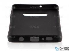 قاب طرح چرم سامسونگ Huanmin Leather Case Samsung Galaxy S10e