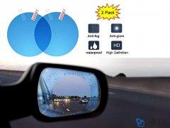 برچسب ضد آب آینه بغل خودرو بیسوس Baseus Raincoat Car Mirror