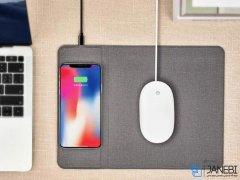 شارژر وایرلس و موس پد کوتتسی Coteetci Wireless Charge Mouse Pad