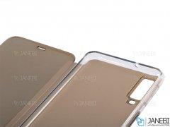 کیف سامسونگ Samsung Galaxy A7 2018 Mirror Clear View Cover