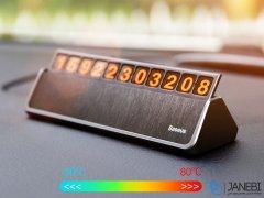 شماره تلفن پارک خودرو بیسوس Baseus Hermit Temporary Parking Number Card