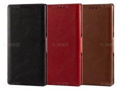 کیف چرمی سامسونگ Puloka Case Samsung Note 10 Plus