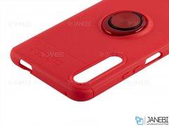 قاب ژله ای حلقه دار هواوی Becation Finger Ring Case Huawei Honor 9X