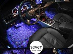 کیت نورپردازی ریموتدار The Star lights Of Car Seat Bottom A12