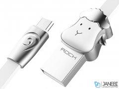 کابل میکرو طرحدار راک Rockspace Goat Micro USB Cable 1M