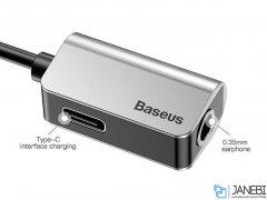 مبدل تایپ سی به تایپ سی و صدا بیسوس Baseus Type-C To Type-C&3.5MM Adapter L40