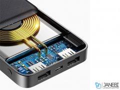 پاور بانک و شارژر وایرلس بیسوس Baseus M36 10000mAh Wireless Charging Power Bank