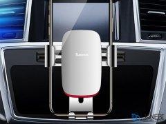 پایه نگهدارنده گوشی بیسوس Baseus Metal Gravity Car Mount CD Version