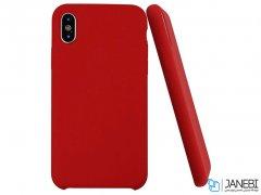 قاب سیلیکونی راک آیفون Rock Touch Silicone Case iPhone X/XS