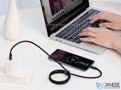 کابل تایپ سی سریع بیسوس Baseus Dual-mode Fast Type-C Cable 1m