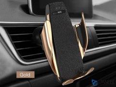 هولدر و شارژر وایرلس هوشمند توتودیزاین Totu Design CACW-029 Induction Wireless Charge Car Mount