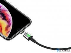 کابل آهنربایی لایتنینگ بیسوس Baseus Lightning Magnetic Cable 1m/2.4A