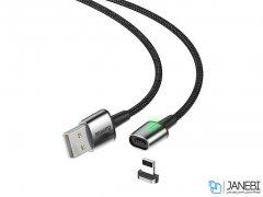 کابل آهنربایی لایتنینگ بیسوس Baseus Lightning Zinc Magnetic Cable 1m/2.4A