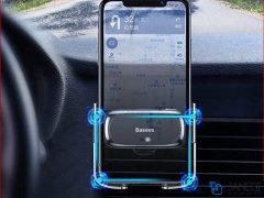 پایه نگهدارنده هوشمند داخل خودرو بیسوس Baseus Mini Electric Car Holder