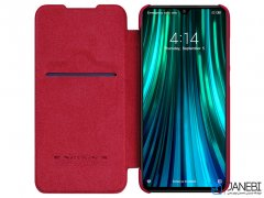کیف چرمی نیلکین شیائومی Nillkin Qin Leather Case Xiaomi Redmi Note 8 Pro