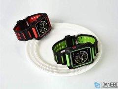 قاب و بند اپل واچ کوتتسی Coteetci PC & Silicone Watch Case Band Suit