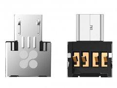 او تی جی میکرو یو اس بی پرومیت Promate Nano-OTG Micro-USB Adaptor
