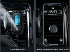 دستگاه بخور سرد خودرو بیسوس Baseus Mini Spaceship Car Magnetic Humidifier