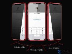 قاب مگنتی و محافظ صفحه حفظ حریم شخصی آیفون Privacy Glass Magnetic 360 Case Apple iPhone X/XS