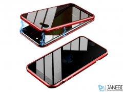 قاب مگنتی و محافظ صفحه حفظ حریم شخصی آیفون Privacy Glass Magnetic 360 Case Apple iPhone 7/8