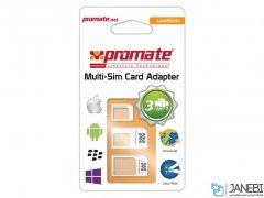 تبدیل سیم کارت پرومیت Promate Unisim 4in1 Adapter