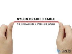 کابل شارژ و انتقال داده میکرو یو اس بی پرووان ProOne Mental Micro USB Cable 1m