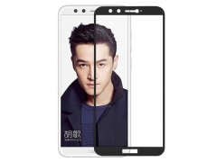 محافظ صفحه نمایش شیشه ای تمام چسب هواوی Full Glass Screen Protector Huawei Honor 9 Lite