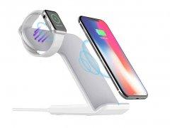 پایه شارژ اپل واچ و آیفون Coteetci Wireless 3in1 Charging Base