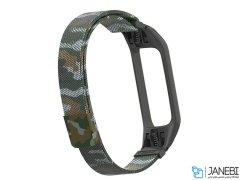 بند فلزی چریکی دستبند سلامتی Xiaomi Metal Mi Band 3/4 Strap