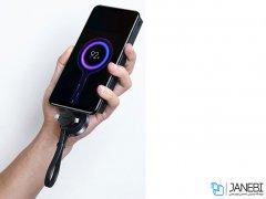 کابل سه سر و شارژر وایرلس اپل واچ بیسوس Baseus Star Ring 4in1 Cable Apple Watch Wireless Charger