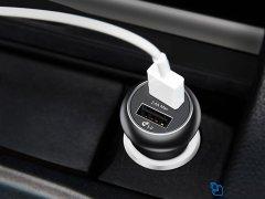 شارژر فندکی دو پورت سریع بیسوس Baseus Gentry Dual Quick Car Charger